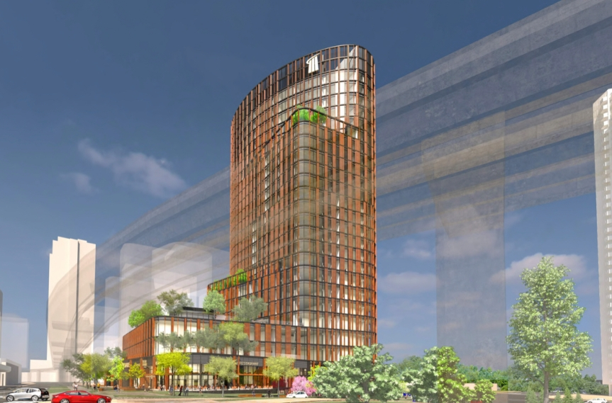 25-Storey 'Central City II' Office Tower  heads to Council